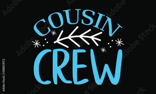 Photo Cousin crew Christmas EPS/SVG Cut File | Wine Christmas EPS/SVG | Christmas EPS/