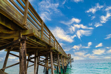A Stunning Wooden Pier On The ...