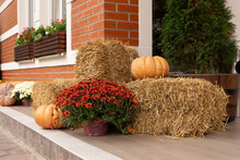 Halloween Decorations, Big Pum...