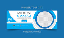 New Arrival Mega Sale Social ...