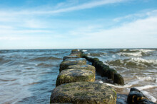 Selective Focus Of A Line Of W...