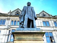 Statue Of, Sir Mathew Wilson B...