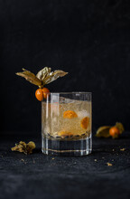 Aguaymanto, Granadilla And Pisco Cocktail