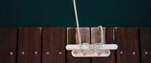 An Aluminium Boat Anchor On A ...
