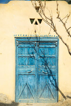 Blue Decorative Door