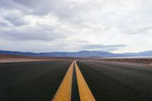 Empty Death Valley Road