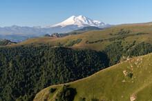 Landscape With Mount Elbrus