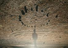 Strange Being And Rock Circle