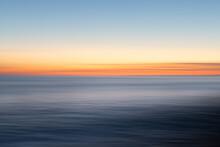 Dusk At Sea