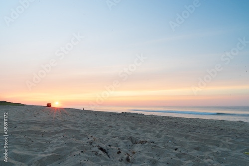 фотография Sunrise on the beach