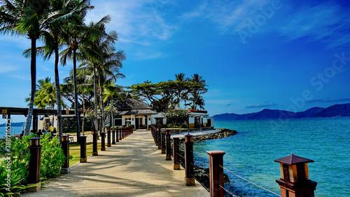 Shangri-La Hotel Kota Kinabalu, Sabah, Malaysia Fototapeta