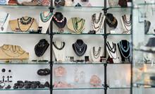 Variety Of Necklaces, Bracelet...