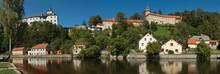 Castle In Rozmberk Nad Vltavou,South Bohemian Region,Czech Republic,Europe
