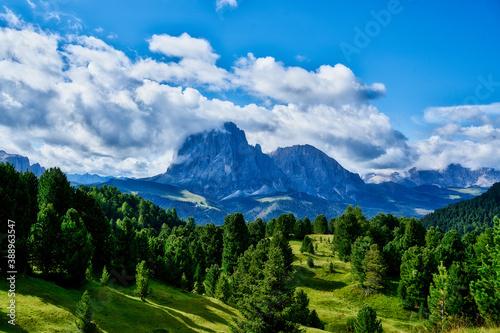 Fotografía Amazing view on Seceda peak