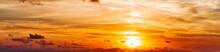 Sunset In The Clouds, Orange A...