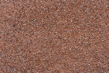 Texture Of Red Tiny Gravel