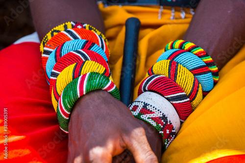 Obraz na płótnie Samburu people, Samburu National Park, Kenya, Africa