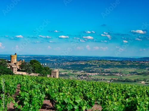 Fotografía Panorama depuis les monts du Beaujolais.