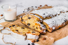 Christmas Stollen With Candied...