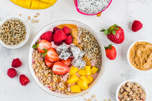Strawberry Smoothie Bowl With ...