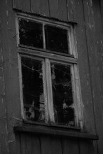 Mysterious Window In An Old Abandoned House