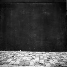 B&W Dark Grey Wall And Lighter...