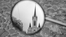 Church Is Reflected In The Mot...