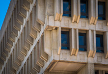 The Stark Concrete Features Of Boston City Hall