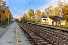 Railway Tracks. Rail Transpor...