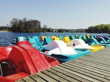 Trakai Pedal Boat Ship Lithuania