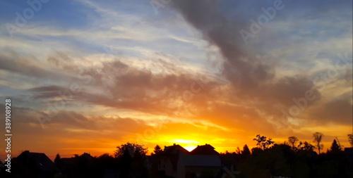 Fototapety, obrazy: Zachód słońca