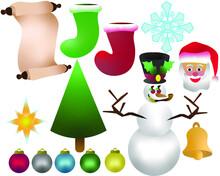 Set Of Assorted Christmas Holi...