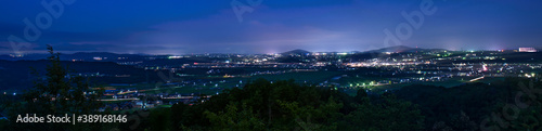 Photo 兵庫県・三木市の夜の風景