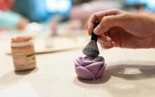 Handmade Rose Shaped Soap Deco...