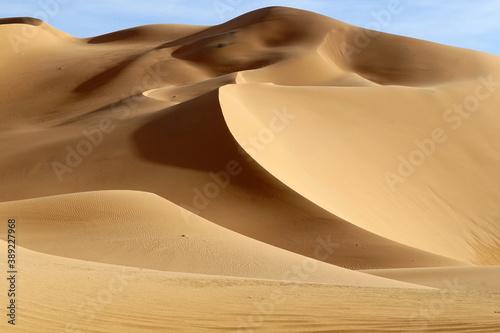 sand dunes in the desert Fototapet