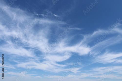 Tablou Canvas Cielo e nuvole in autunno - paradiso