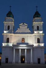 Chelm, Poland, September 25, 2020: Shrine, The Basilica Of The Virgin Mary In Chelm In Eastern Poland Near Lublin