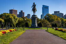 The Statue Of George Washingto...
