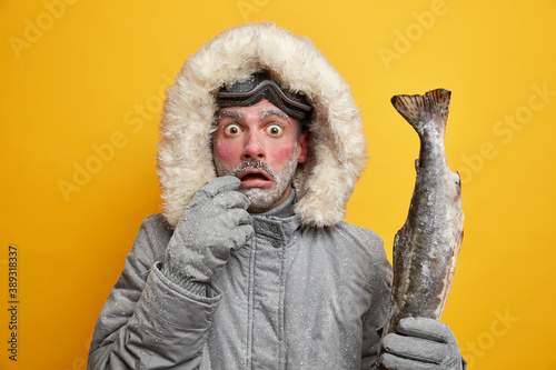 Tablou Canvas Outdoor winter activities and hobbies concept