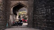 Kalaburagi Fort Back Entrance Gate Inner View Arch
