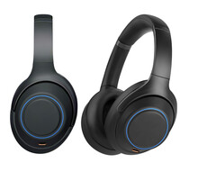 Realistic Stereo Headset Wireless Music Equipment In Black