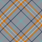 Seamless pattern of scottish tartan plaid. Repeatable background with check fabric texture. Vector backdrop striped textile print. - 389350360