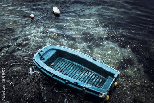 Obraz na płótnie bateau seul