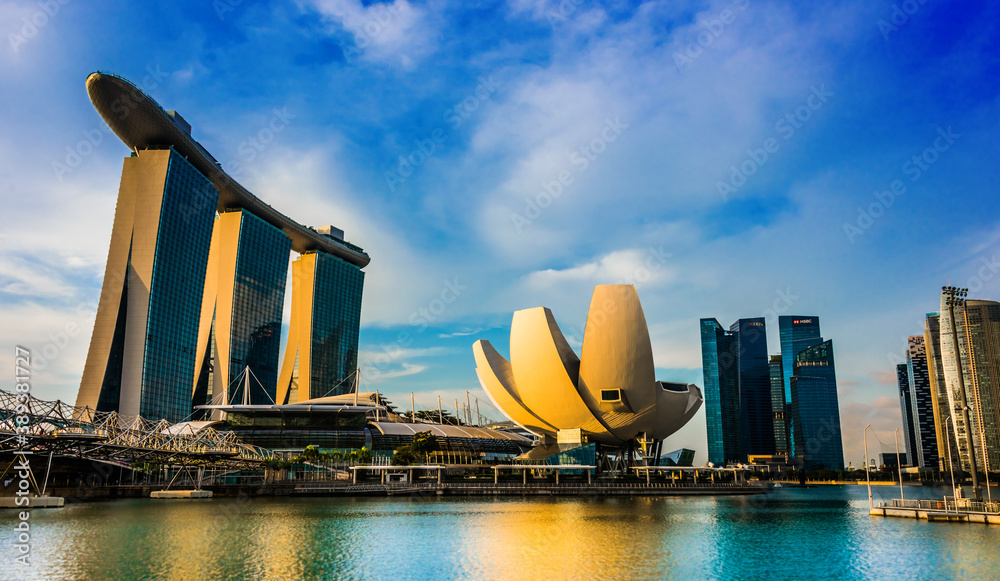 Marina Bay Sands and ArtScience Museum in Singapore