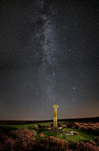 Milky Way And Foreground Cross...