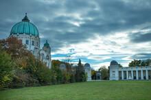 Friedhofskirche Zum Heiligen Karl Borromäus Am Zentralfriedhof Wien