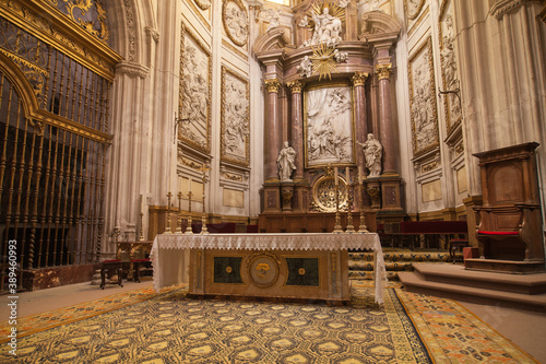 High Altar of the Cuenca Cathedral Wallpaper Mural