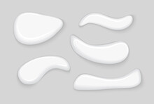 Cosmetic Gel Smear Cream White...