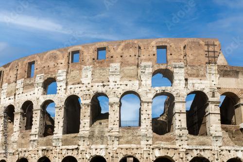 Colosseum, the flavian amphitheatre in Italy Rome Billede på lærred