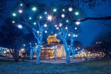 Night St. Petersburg. Winter R...